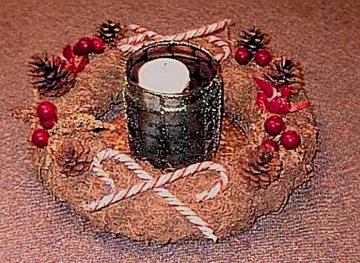 Holiday Straw Wreath
