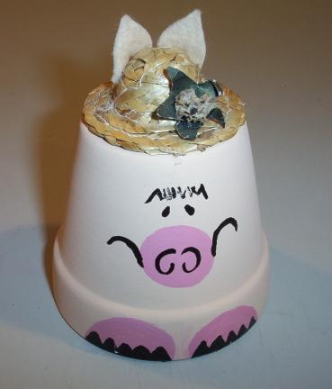 Pig Clay Pot