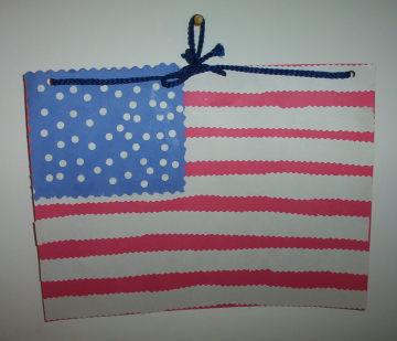 American Paper Flag