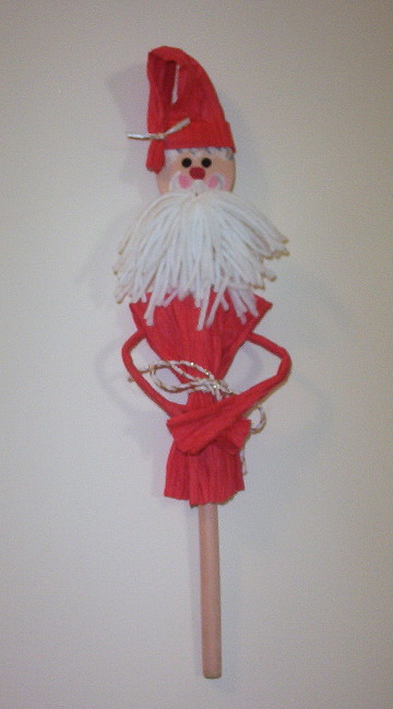 St. Nick Wooden Spoon Decoration