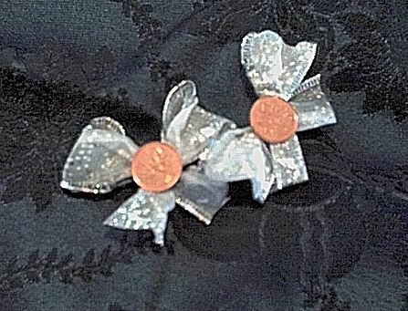 Lucky Penny Barrettes