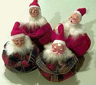 Santa Pincushion
